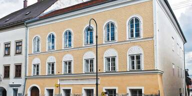 Hitler-Haus wird Menschenrechts-Fall