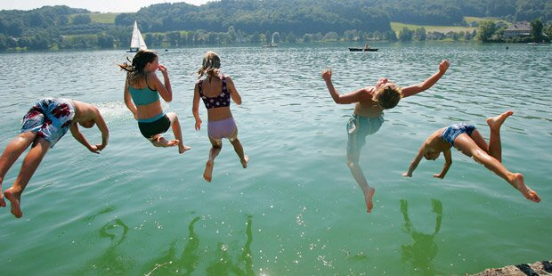 Salzburgs Seen werden wärmer