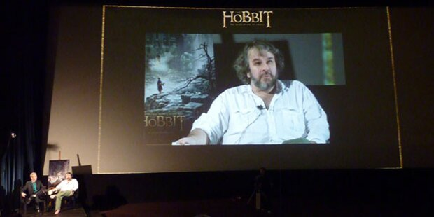 Countdown zu Hobbit - Film mit Show gestartet