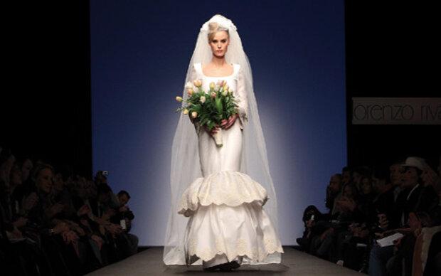 Die Hochzeitsroben der Designer