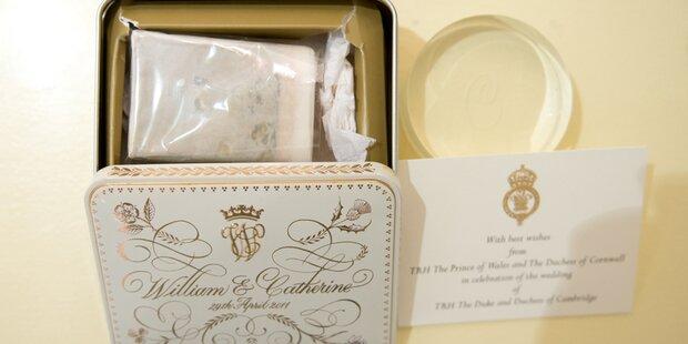 William & Kate: Stück Hochzeitstorte versteigert