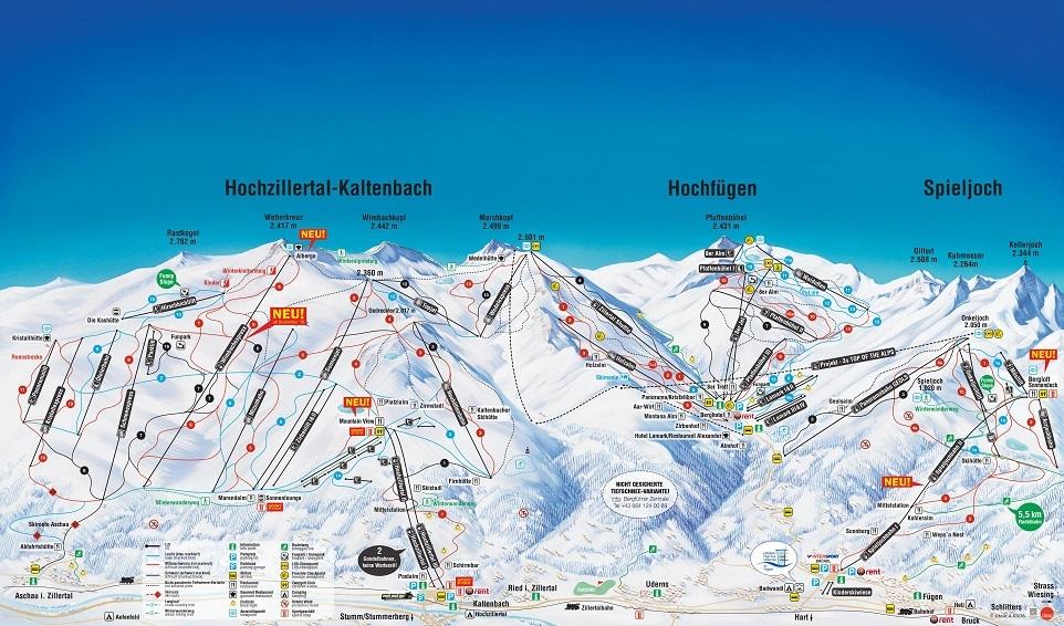 Zillertal - ADV - Ski Food Festival - Hochzillertal Panorama