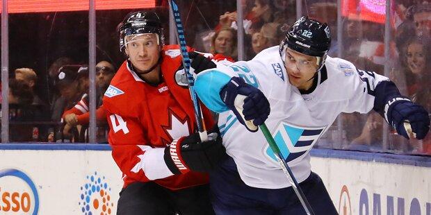 Kanada gewinnt erstes Finale gegen Europa