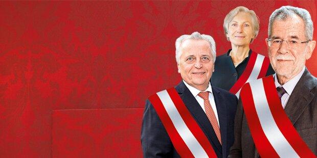 Hofburg-Wahlkampf nimmt jetzt Fahrt auf