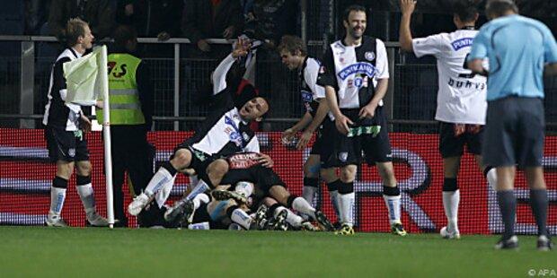 Oberhaus-Vereine im Cup-Semifinale unter sich