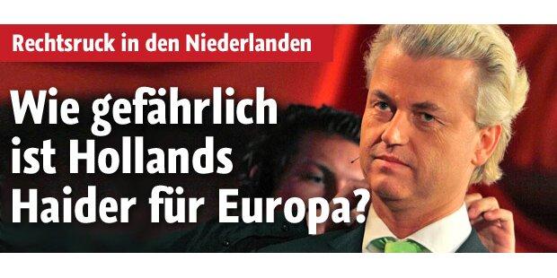 Wie gefährlich ist Wilders für Europa?