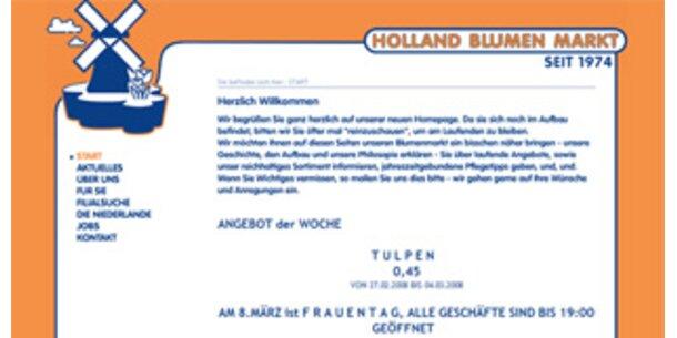 """""""Holland Blumen Markt"""" vor Verkauf"""