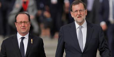 Hollande Rajoy