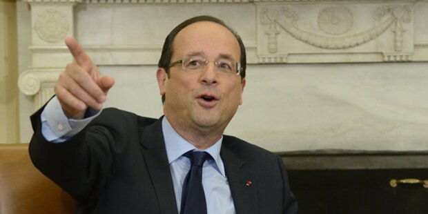 Hollande: Keine Wahlunterstützung für SPD
