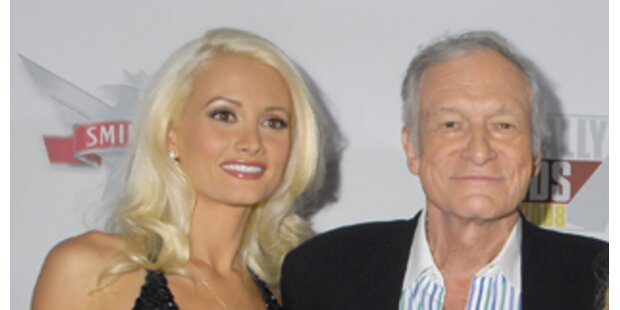 Playboy Hefner hoppelt sein Lieblingsbunny davon