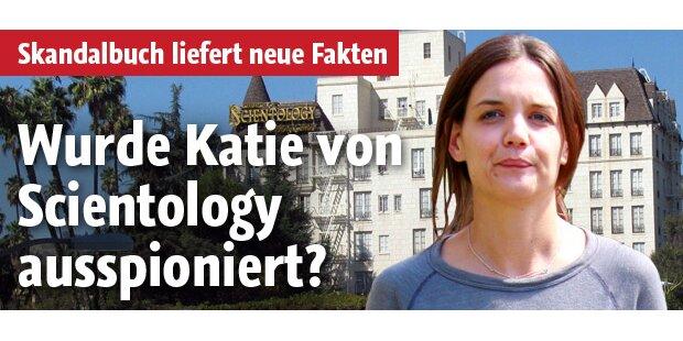Holmes: Von Scientology ausspioniert