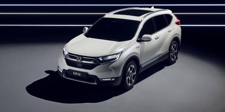 Honda stellt den völlig neuen CR-V vor