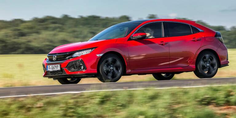 Honda Civic mit neuem Sauber-Diesel