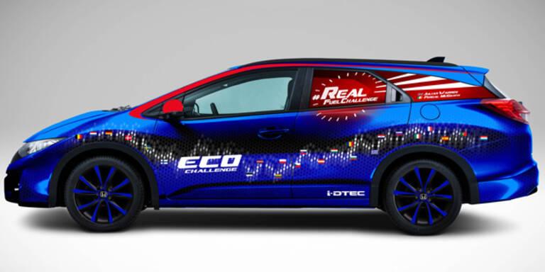 Honda will Verbrauchs-Weltrekord