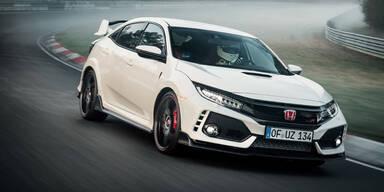 Neuer Civic Type R holt sich Rundenrekord zurück