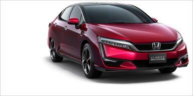 Start für Hondas neues Brennstoffzellenauto