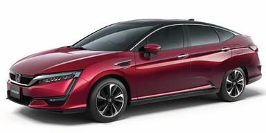 Honda FCV setzt auf Brennstoffzelle