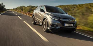 Honda HR-V (Facelift) mit neuen Motoren