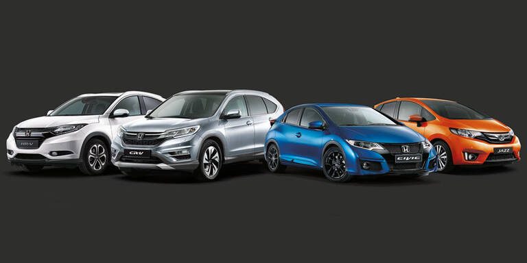 Honda macht Civic, CR-V, HR-V und Jazz günstiger