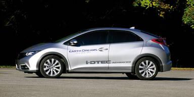 Spar-Diesel für den neuen Honda Civic