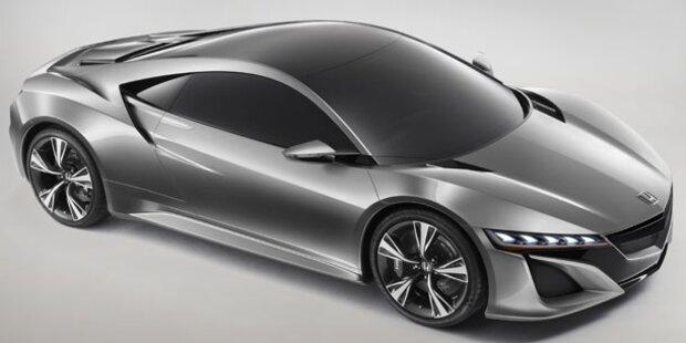 Honda zeigt Studie des neuen NSX