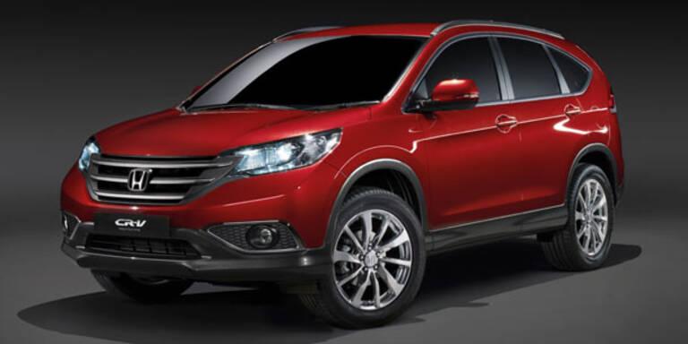 Honda stellt neuen CR-V für Europa vor