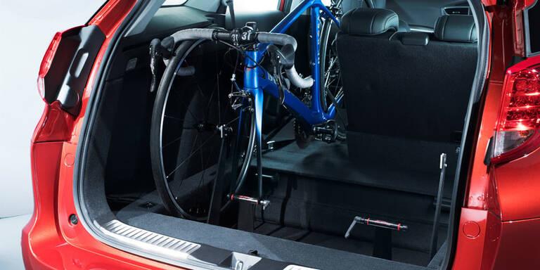 Honda bringt Innenraum-Fahrradträger