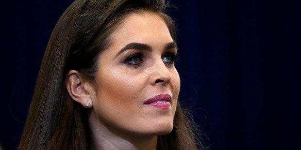 Hat diese 28-Jährige den schwierigsten Job im Weißen Haus?
