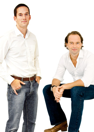 Hormon-Experten. Dr. Johannes Seidel und  Dr. Christian Matthai