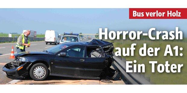A1 war nach tödlichem Crash gesperrt