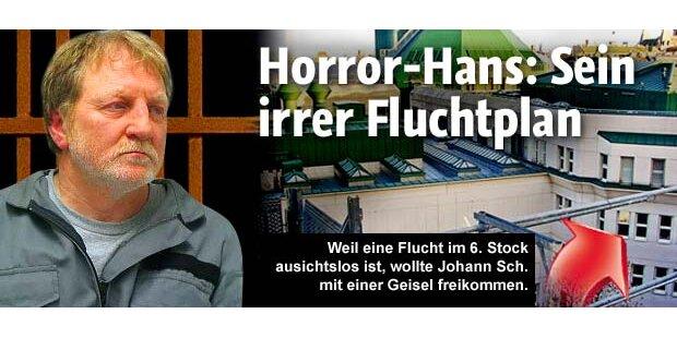 Horror-Hans und sein irrer Fluchtplan