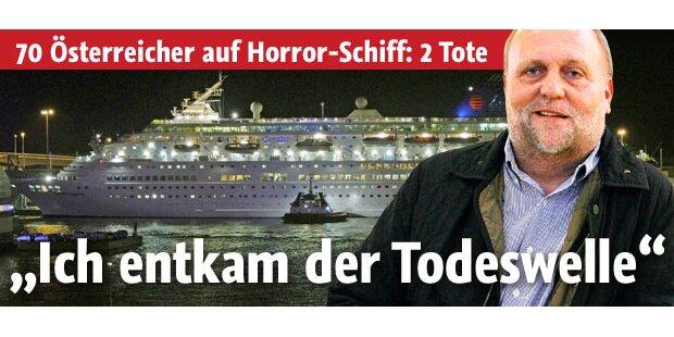 70 Österreicher an Bord des Todes-Schiffs