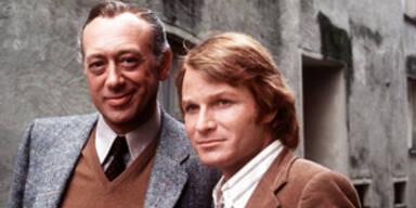 """Horst Tappert & Fritz Wepper in """"Derrick"""""""