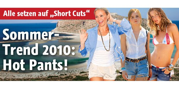 Sommer- Trend 2010: Hot Pants!