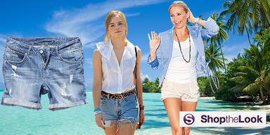 Hot Pants Sommer-Trend der Stars Shop the Look