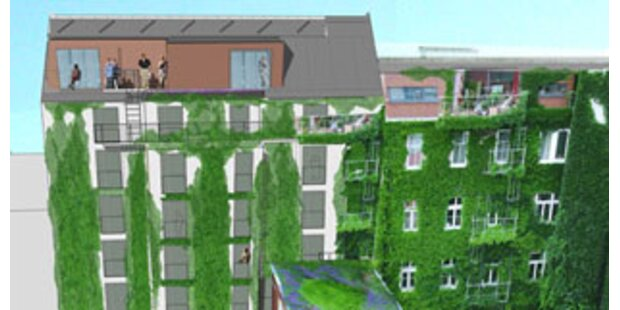 Wiens erstes Ökohotel entsteht