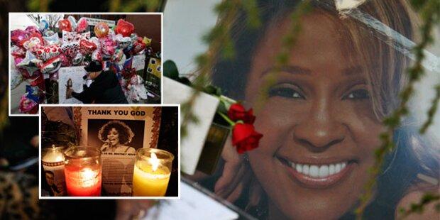 Familie & Fans: Abschied von Whitney
