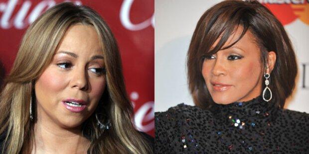 Mariah Carey schockiert über Houstons Tod