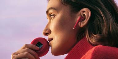 Huawei Freebuds 3 nun auch in Rot erhältlich
