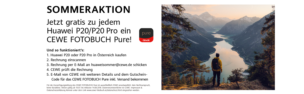 Huawei - ADV - Sommeraktion - Produktseite - Banner