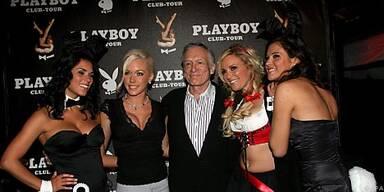 Hugh Hefner und seine 'Bunnies'