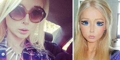Lebende Barbie