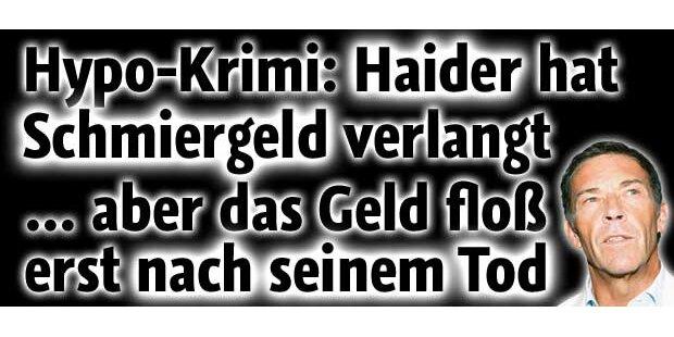 Ermittler: Schmiergeld an Jörg Haider