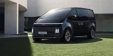 Hyundais futuristischer Bulli-Gegner startet