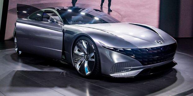 So scharf fährt Hyundai in die Zukunft