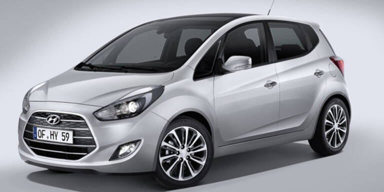 Neuer Hyundai ix20 startet in Österreich