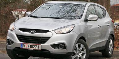 Hyundai ix35 mit Einstiegsdiesel im Test