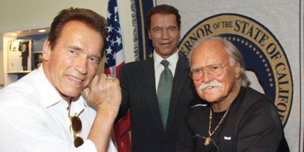 Austro-Visite: Arnie kommt wieder!