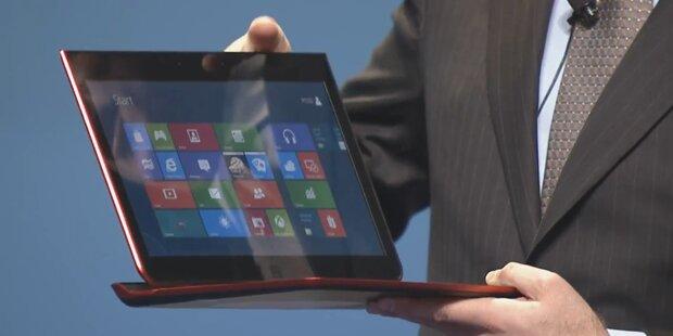 Intel stellt Ultrabook-Tablet-Hybrid vor