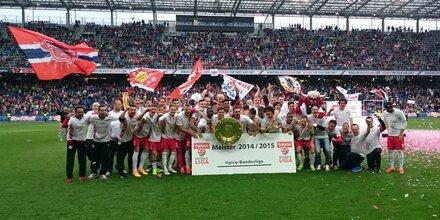 Der FC Red Bull Salzburg ist Meister